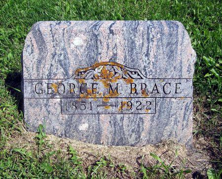 BRACE, GEORGE M. - Fayette County, Iowa | GEORGE M. BRACE