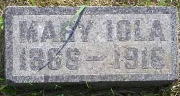 BRASSIE, MARY IOLA - Fayette County, Iowa | MARY IOLA BRASSIE