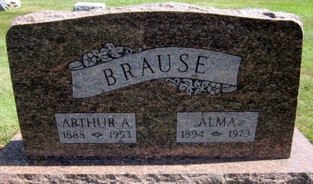 BRAUSE, ARTHUR A. - Fayette County, Iowa   ARTHUR A. BRAUSE