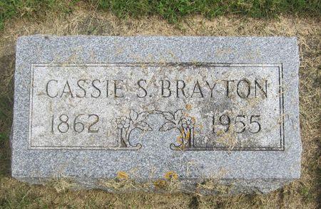 BRAYTON, CASSIE S. - Fayette County, Iowa   CASSIE S. BRAYTON