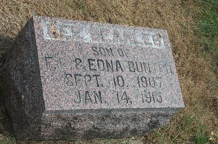 BUNTON, LEE SEARLES - Fayette County, Iowa | LEE SEARLES BUNTON