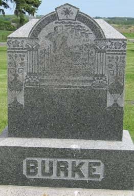 BURKE, FAMILY STONE - Fayette County, Iowa | FAMILY STONE BURKE