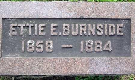 BURNSIDE, ETTIE E. - Fayette County, Iowa | ETTIE E. BURNSIDE