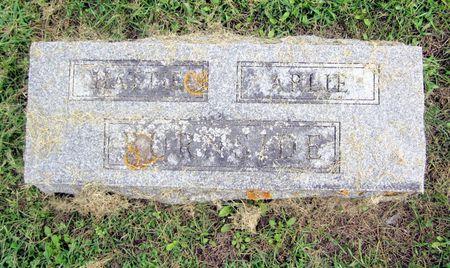BURNSIDE, HATTIE M. - Fayette County, Iowa   HATTIE M. BURNSIDE