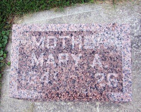 BURRETT, MARY A. - Fayette County, Iowa | MARY A. BURRETT
