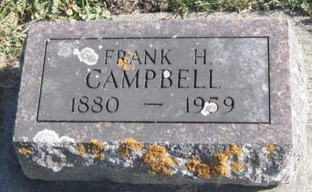 CAMPBELL, FRANK H. - Fayette County, Iowa   FRANK H. CAMPBELL