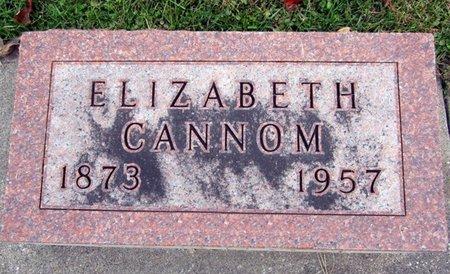 CANNOM, ELIZABETH - Fayette County, Iowa   ELIZABETH CANNOM