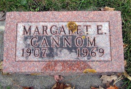 CANNOM, MARGARET E. - Fayette County, Iowa   MARGARET E. CANNOM