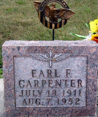 CARPENTER, EARL F. - Fayette County, Iowa | EARL F. CARPENTER