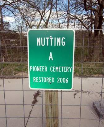 NUTTING, CEMETERY - Fayette County, Iowa | CEMETERY NUTTING