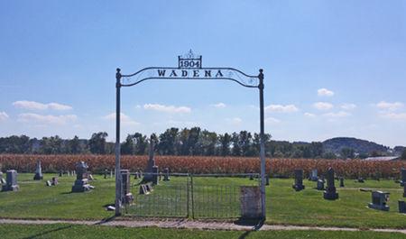 WADENA, CEMETERY - Fayette County, Iowa   CEMETERY WADENA