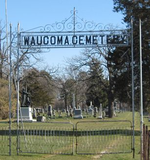 WAUCOMA, CEMETERY - Fayette County, Iowa   CEMETERY WAUCOMA