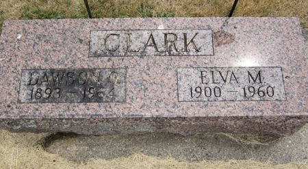CLARK, ELVA M. - Fayette County, Iowa | ELVA M. CLARK