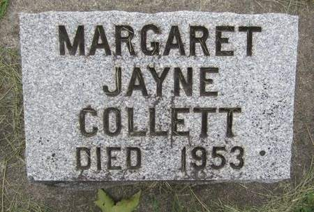 JAYNE COLLETT, MARGARET - Fayette County, Iowa | MARGARET JAYNE COLLETT