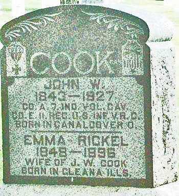COOK, JOHN W. - Fayette County, Iowa | JOHN W. COOK