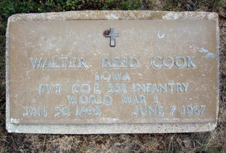 COOK, WALTER - Fayette County, Iowa | WALTER COOK
