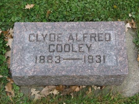 COOLEY, CLYDE ALFRED - Fayette County, Iowa | CLYDE ALFRED COOLEY
