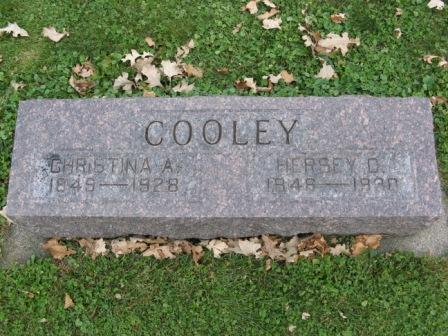 COOLEY, HERSEY D. - Fayette County, Iowa   HERSEY D. COOLEY