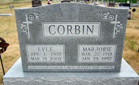 CORBIN, MARJORIE - Fayette County, Iowa | MARJORIE CORBIN
