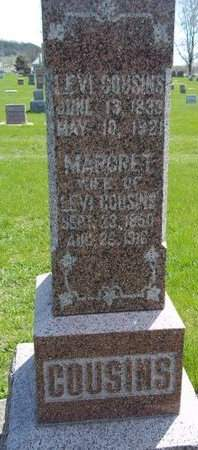 COUSINS, MARGRET - Fayette County, Iowa | MARGRET COUSINS