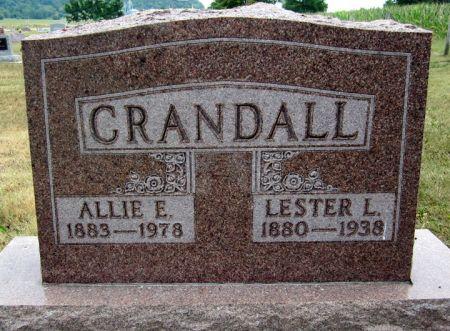 CRANDALL, LESTER L. - Fayette County, Iowa | LESTER L. CRANDALL