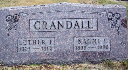 CRANDALL, LUTHER F. - Fayette County, Iowa | LUTHER F. CRANDALL