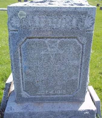CULBERTSON, MORRIS E. - Fayette County, Iowa | MORRIS E. CULBERTSON