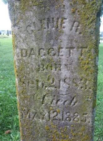 DAGGETT, GLENIE R. - Fayette County, Iowa | GLENIE R. DAGGETT