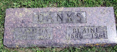 DANKS, MATILDA - Fayette County, Iowa | MATILDA DANKS