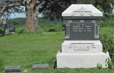 DANKS, ORANGE S. - Fayette County, Iowa   ORANGE S. DANKS