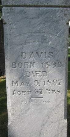 DAVIS, HENRY - Fayette County, Iowa | HENRY DAVIS