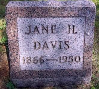 DAVIS, JANE H. - Fayette County, Iowa | JANE H. DAVIS