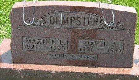 BIGELOW DEMPSTER, MAXINE ELAINE - Fayette County, Iowa   MAXINE ELAINE BIGELOW DEMPSTER