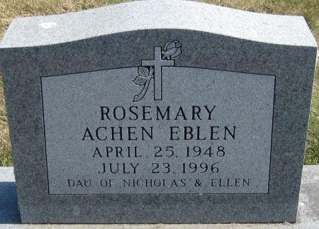 EBLEN, ROSEMARY - Fayette County, Iowa | ROSEMARY EBLEN