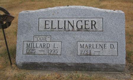 ELLINGER, MILLARD L. 'ODIE' - Fayette County, Iowa   MILLARD L. 'ODIE' ELLINGER