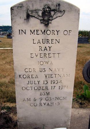 EVERETT, LAUREN RAY - Fayette County, Iowa   LAUREN RAY EVERETT