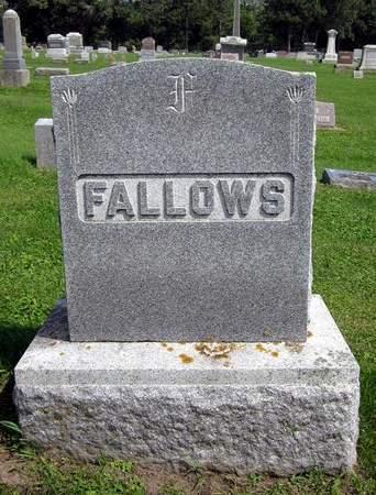 FALLOWS, FAMILY MONUMENT - Fayette County, Iowa | FAMILY MONUMENT FALLOWS