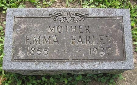 FARLEY, EMMA - Fayette County, Iowa   EMMA FARLEY