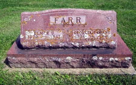 FARR, ELMER U. - Fayette County, Iowa   ELMER U. FARR
