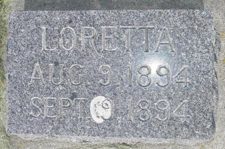 FINNEGAN, LORETTA - Fayette County, Iowa | LORETTA FINNEGAN
