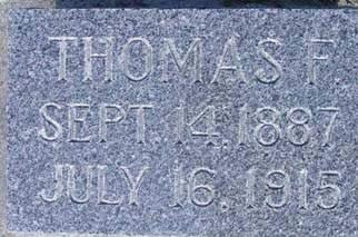 FINNEGAN, THOMAS F. - Fayette County, Iowa | THOMAS F. FINNEGAN