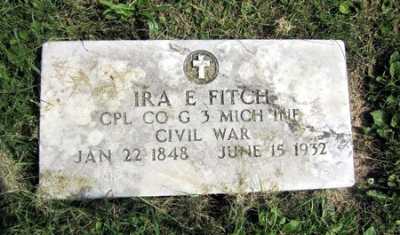 FITCH, IRA E. - Fayette County, Iowa | IRA E. FITCH