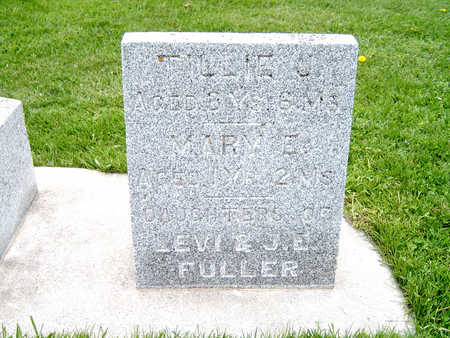 FULLER, MARY - Fayette County, Iowa | MARY FULLER