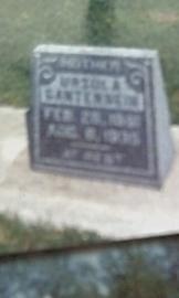 HAAS GANTENBEIN, URSULA - Fayette County, Iowa | URSULA HAAS GANTENBEIN