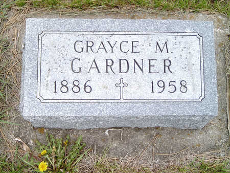 GARDNER, GRAYCE - Fayette County, Iowa   GRAYCE GARDNER