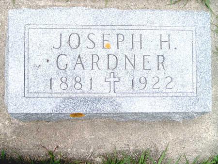 GARDNER, JOSEPH H. - Fayette County, Iowa | JOSEPH H. GARDNER