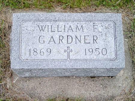 GARDNER, WILLIAM - Fayette County, Iowa | WILLIAM GARDNER