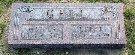 GELL, WALTER - Fayette County, Iowa | WALTER GELL
