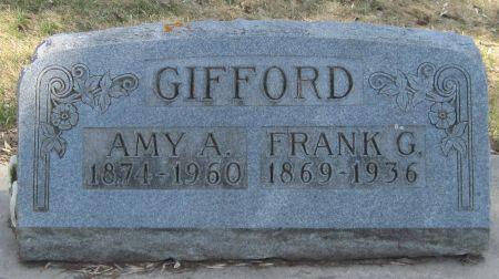 GIFFORD, FRANK G - Fayette County, Iowa   FRANK G GIFFORD