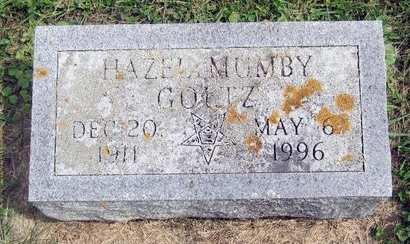 MUMBY GOLTZ, HAZEL - Fayette County, Iowa | HAZEL MUMBY GOLTZ